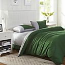 verde por completo de 4 piezas duvet cover set