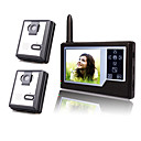 Wireless 3.5 Inch TFT Monitor Video Door Phone with 2 Cameras (Record,Photo)