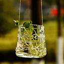 Elegant Glass Hanging Vase Centerpiece
