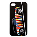 Protective Dull Polished Super Slim Car Patterned iPhone Case Cover (Pattern 4)