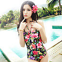 Slim One-piece Hot Spring Bath Swimsuit