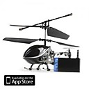 3 Channel I-Helicopter 777-170 with Gyro Controlled by iPhone/iPad/iPod Touch Black (777-170B)