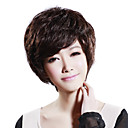 Hand Tied Short Wavy Mixed Hair Wig with UVP Antimicrobial Net