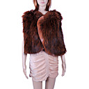 Genuine Hand Knitted Fashion Clothing With Sheepskin Leather Trim