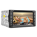 6.2 inch 2DIN auto dvd speler (gps, mpeg4 dvb-t, bluetooth, pip, rds)