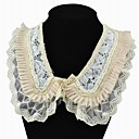 Women's Vintage Lace Edge Beaded Collar