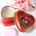 Heart-shaped Tin Candle Favor - Asian Themed Wedding