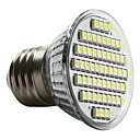 E27 60-3528 SMD 3-3.5W 6000-6500K Natural White Light LED Spot Bulb (230V)