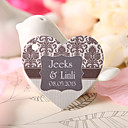 Personalized Heart Shaped Favor Tag - Classic Patterns (Set of 60)