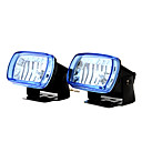 55W 3000K 1000-Lumen Car Fog Lights (Yellow Light, DC 12V, 1 Pair)