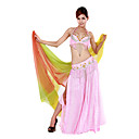 Dancewear Polyester Performance Belly Dance Top/Belt And Skirt For Ladies More Colors