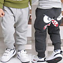 Baby Cartoon Casual Feet Pants