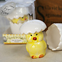 Hatching Chicks Salt &amp; Pepper Shakerss Baby Shower Favor (Set of 2)