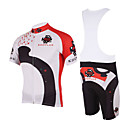 Kooplus - Quick Dry Mens BIB Short Cycling Sets(China Ink)