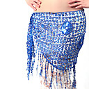 Dancewear Polyester With Sequins/Tassels Performance Belly Dance Hip Scarf For Ladies More Colors