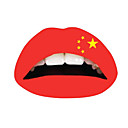 10 Pcs China Temporaty Lip Tattoo Sticker