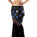 Performance Dancewear Polyester With Embroidery Belly Dance Hip Scarf For Ladies More Colors
