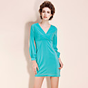 TS Simplicity V-neck Slimming Dress (More Colors)