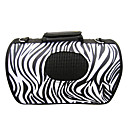 Zebra Print Portable Outdoor Dog Cat Carrier For Pets (37 x 24 x 23cm)