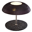 25W Contemporary Fabric Table Light with 1 Light in Mushroom Design