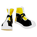 scarpe cosplay ispirati kingdom hearts sora giallo high-cut
