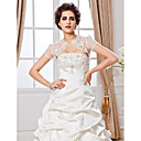 Short Sleeve Lace Special Occasion Jacket/Wedding Wrap(More Colors)