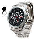 Men's Alloy Analog Quartz Casual Watch (Assorted Colors)