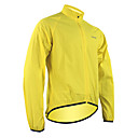 Santic New Designed Men or Womens' Super Light Windproof Raincoat with 2000 Waterproof Index(Green/Yellow)