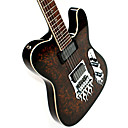 Derulo - Professional Mahogany Telecaster Electric Guitar with Bag/Strap/Picks/Cable/Whammy Bar