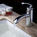 Sprinkle® - by lightinthebox - in ottone massiccio contemporanea rubinetto lavandino del bagno (cromato)