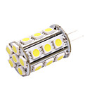 G4 LED Car Light (5050, 4.8W, Lumen(LM) 390,BZ6 Color Temperature 6000K, 12V, with 24 LEDs, White Light)