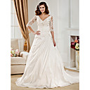 QUEENIE - Abito da Sposa in Taffet