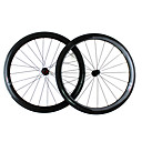 Supernova - 700C Toray T700 Pneu Roues Carbon Aero (Ti Brochette, 50 mm)