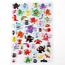 Halloween Favor Stickers  Ghost