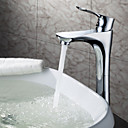 Sprinkle® - by lightinthebox - contemporanea in ottone massiccio lavandino del bagno rubinetto cromato (alto)