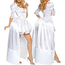 Donna Sexy White Princess Costume di Halloween