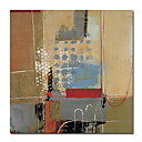 "Oil Painting Stretched Canvas Prints Abstract 24"" x 24"""