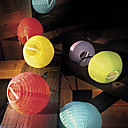 10pcs solares chinos Party Lights Lantern cadena