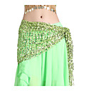 Performance Dancewear Chiffon with Sequins Belly Dance Belt For Ladies More Colors