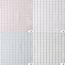100% Cotton Woven Yarn-Dyed Twill Plaids By The Yard (Many Colors)