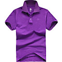 Men's Casual Short Sleeve Polo Shirt