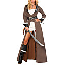 Duro donne pirata costume di Halloween (3 Pezzi)