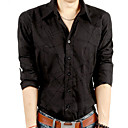 mannen casual fashion shirt met lange mouwen