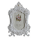 6 &quot;Pas Picture Frame floral Polyresin