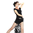 Dancewear Chiffon With Ruffles Latin Dance Top And Bottom for Ladies
