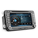 Android de 7 polegadas carro dvd player para vw (touchscreen capacitivo, gps, ISDB-T, wi-fi, 3g)