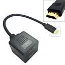 1 To 2 Ports HDMI Splitter