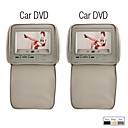 ACURA VISION - 7 Inch Touch Screen Headrest Car DVD Player with Game(1 Pair)