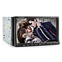 7 polegadas touchscreen digitais carro 2DIN dvd player com AM / FM Bluetooth TV ipod