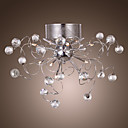 EUGENE - Lustre Moderno Cristal com 9 Lmpadas